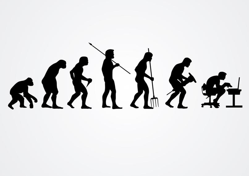 Evolution of work photo